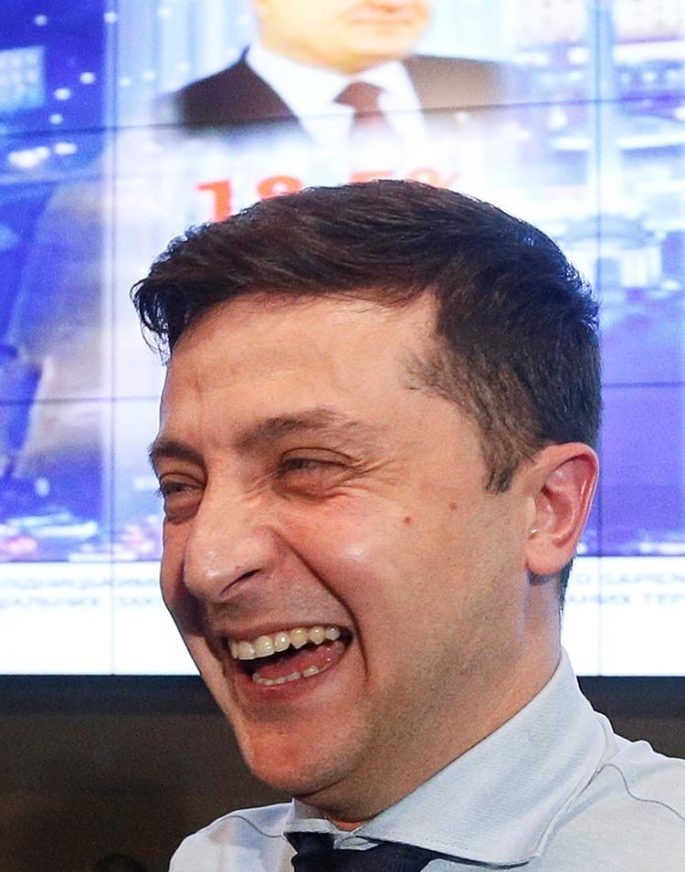 Зеленский победил в первом туре с большим отрывом