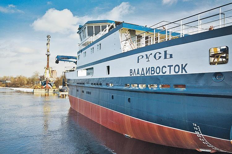 Новейшее и первое краболовное судно, построенное в России компанией Александра Михно «Антей». Автор фото: Антон АНТОНЕНКО.