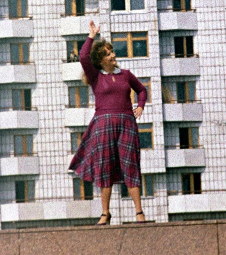 """Съемка клипа """"Летние дожди"""", 1979 год."""