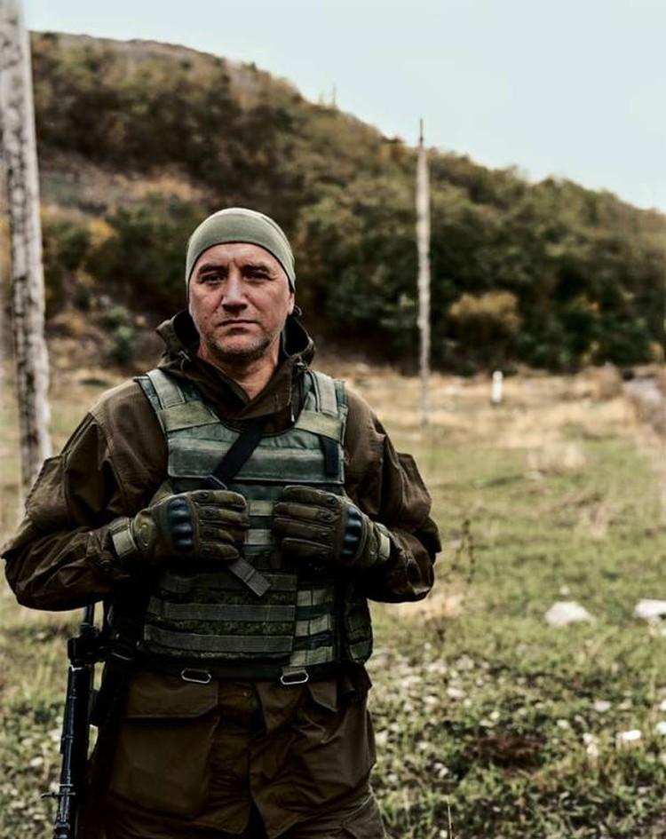 За год на Донбассе писатель потерял восьмерых своих друзей.