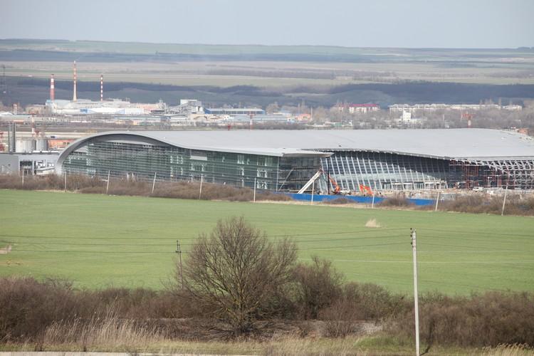 Строительство Международного выставочного центра заморозили в 2014 году