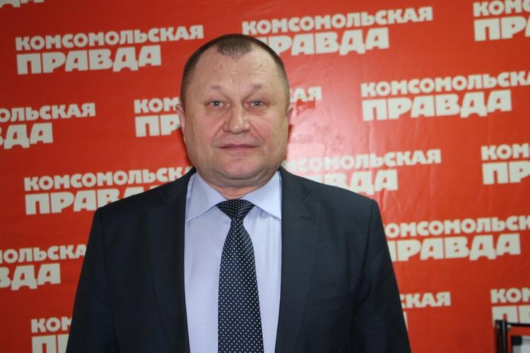 Михаил Ковалев, заместитель министра лесного хозяйства и пожарной безопасности Амурской области. Фото: Евгения НИФОНТОВА