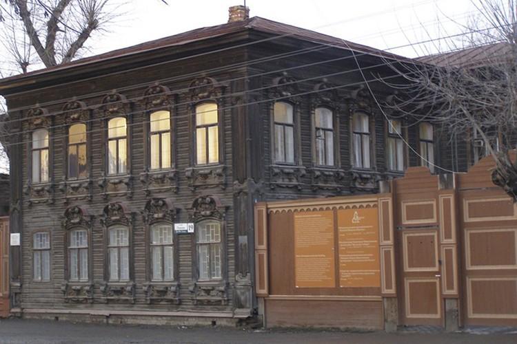 Дом-усадьба Дмитрия Барышникова по улице Осипенко, 19. Фото с сайта admtyumen.ru