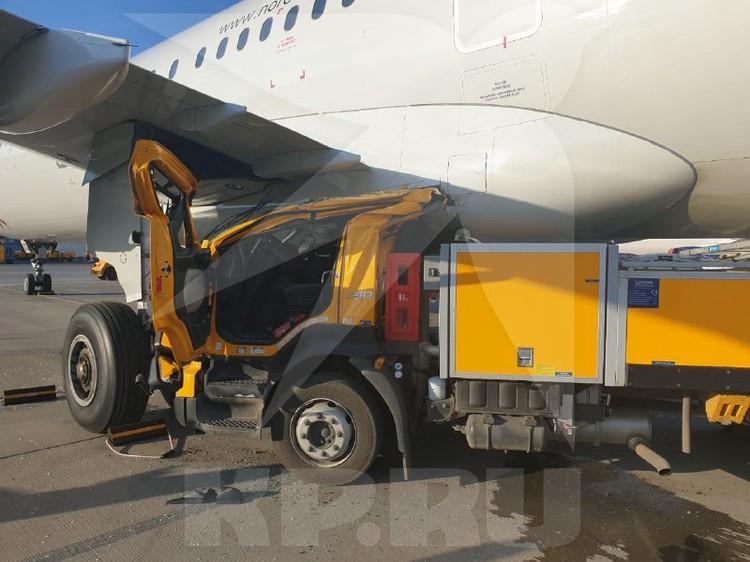 Неуправляемый грузовик технической службы стал причиной ЧП в аэропорту «Шереметьево»