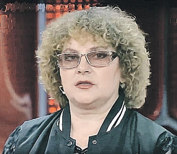 Людмила Голяндина. Фото: Канал «Россия 1»