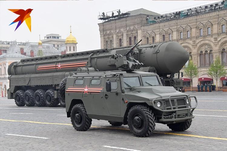 «Ярс», стратегический ракетный комплекс, вооруженный межконтинентальной баллистической ракетой разделяющейся головной частью