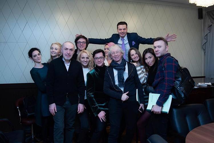 Карен Кавалерян с труппой и Московской Оперетты на чтении Ромео vs Джульетта