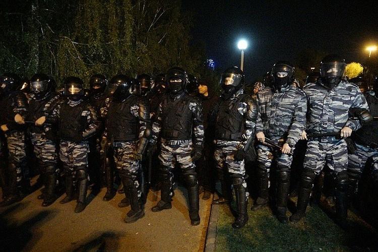 На акции протеста были задержаны 26 человек.