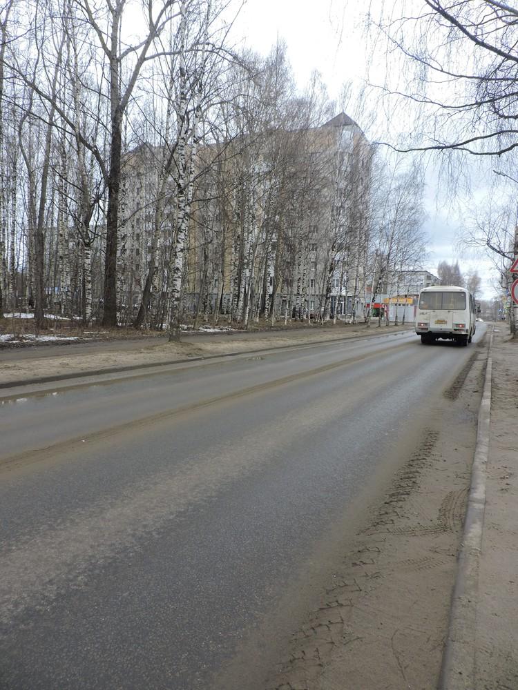 Улицу Старовского ремонтировали от пересечения с улицей Катаева и улицей Элеваторной