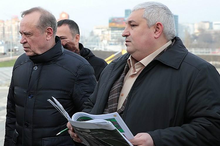 Сидаш и Безуглов отвечали за строительную часть подготовки к ЧМ.
