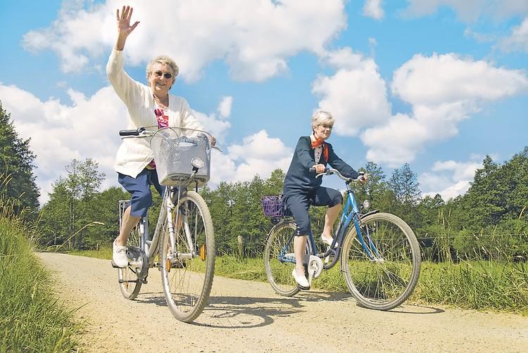 Разумные физнагрузки - одно из главных условий здорового долгожительства. Фото: picture-alliance