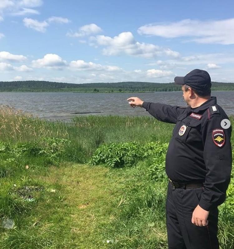 Благодаря действиям полицейского удалось избежать трагедии. Фото: пресс-служба ГУ МВД по Свердловской области