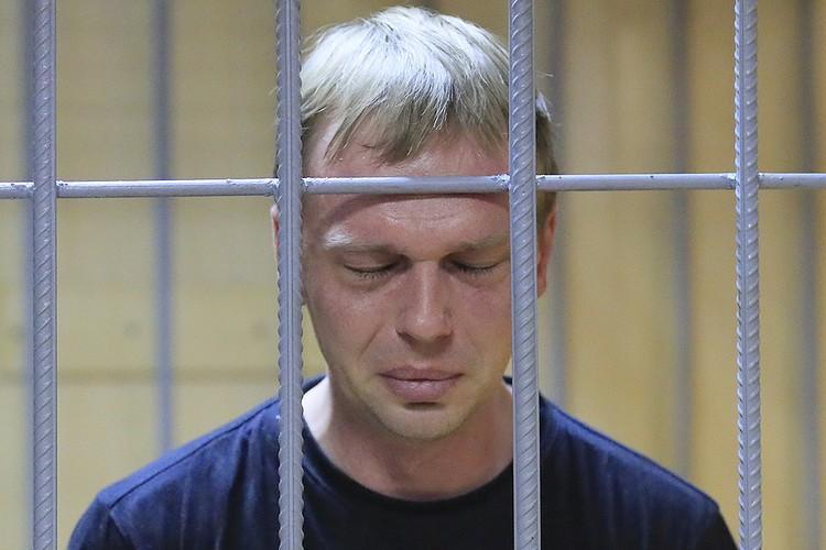 Журналист Иван Голунов в Никулинском суде, 8 июня 2019 г.
