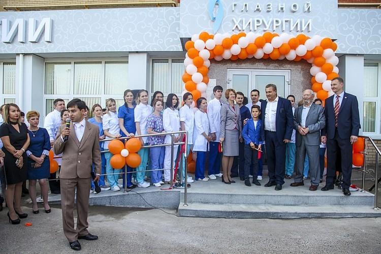 Открытие Центра глазной хирургии - Альметьевск.