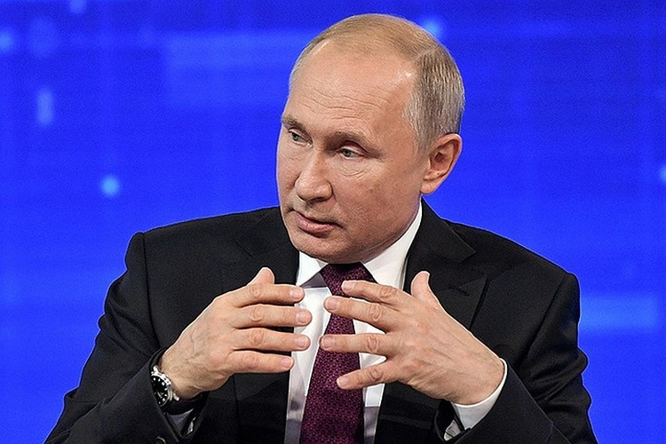"""Владимир Путин в пятницу вечером подписал указ """"об отдельных мерах по обеспечению нацбезопасности России и её граждан"""""""