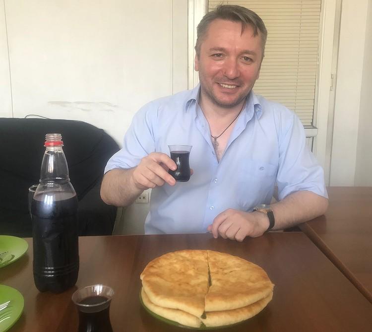 Владимир Бедукадзе с тостом за дружбу России и Грузии.