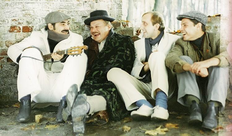 """На съемках фильма """"Мы из джаза"""", 1983 г."""
