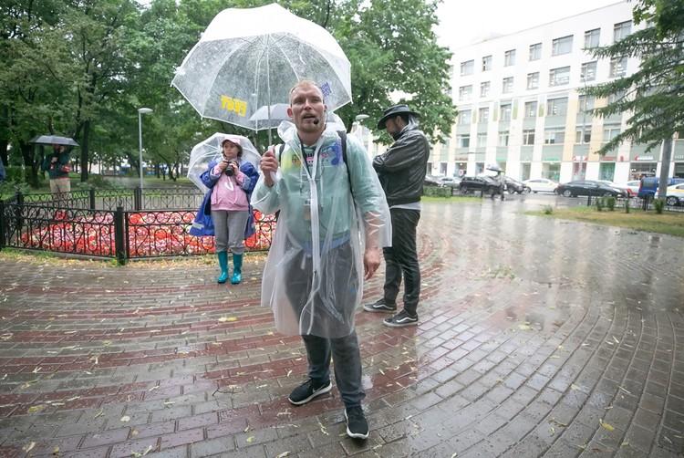 Тот самый сквер, где Дима когда-то ночевал. Фото: Moscow Urban Fest