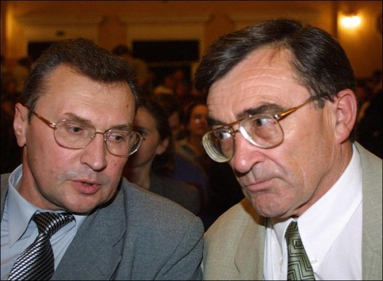 Семен Домаш и Владимир Гончарик. Фото: naviny.by