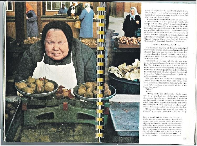 Американская редакция книги сочла, что фото бабы Нюры живописнее, чем портрет красавицы Быстрицкой. Фото: Архив Геннадия Соколова