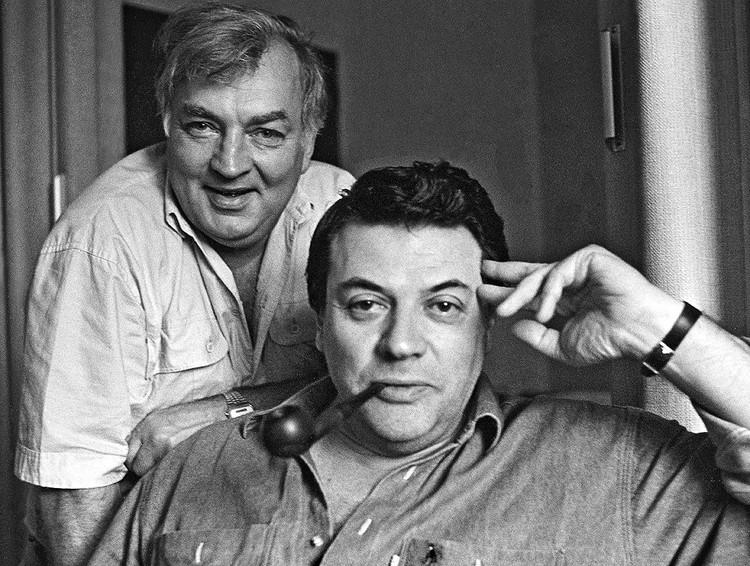 Михаил Державин и Александр Ширвиндт, 1990 год. Фото Павел Маркин/Интерпресс/ТАСС