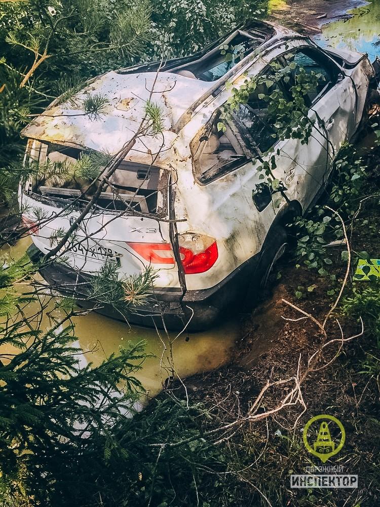В аварии разбирается ГИБДД Фото: Дорожный инспектор