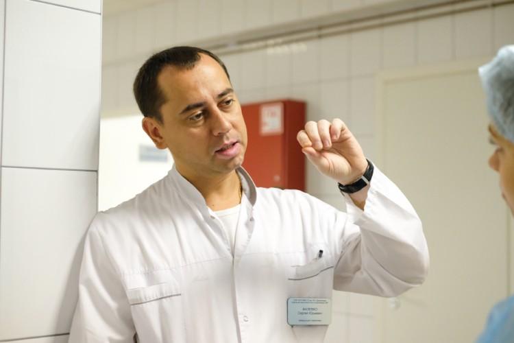 Сергей Фалевко на операции отвечал за анестезию