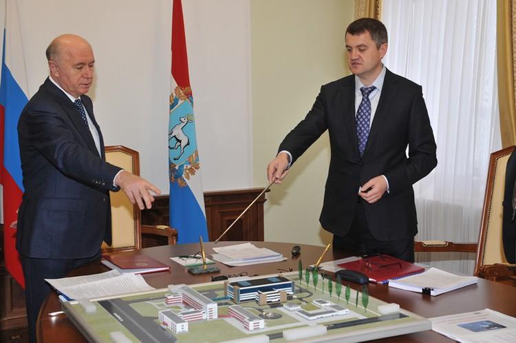 Сергей Шатило подписывал инвестиционный меморандум с прошлым губернатором Николаем Меркушкиным