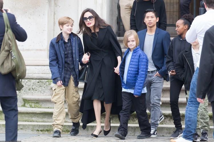 Дети Джоли и Питта никогда не ходили в школу.