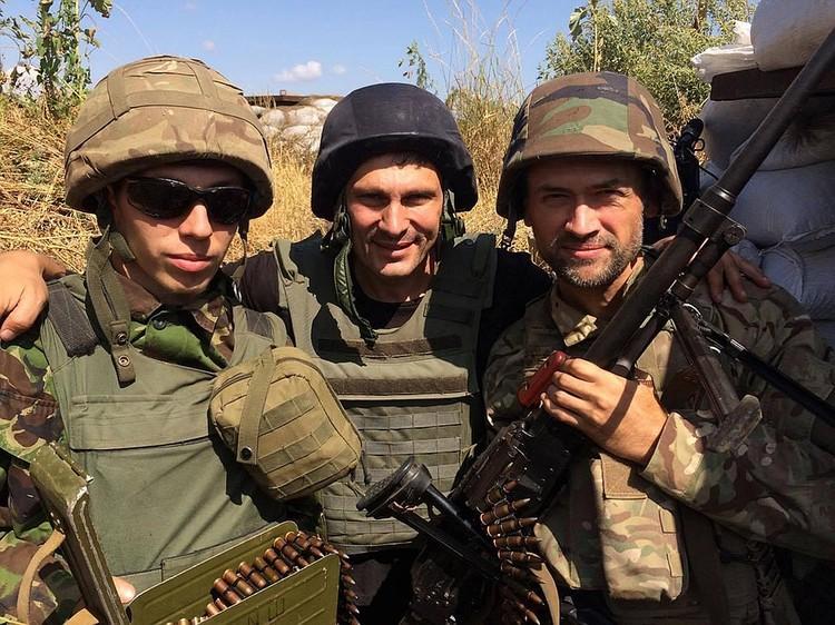 Актер воевал против мирного населения на Донбассе