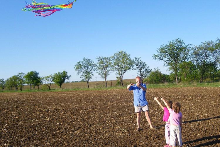 Детство можно догнать и на пенсии. Купите внучкам новую игрушку и играйте всласть.
