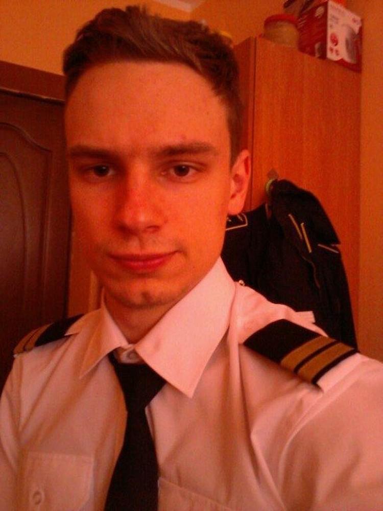 Второй пилот Георгий Мурзин. Фото: соцсети