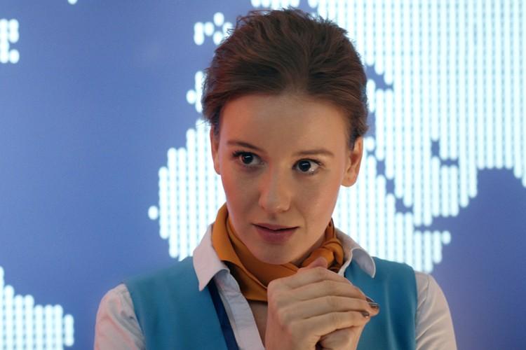 Актриса Ирина Старшенбаум в роли младшей дочери.