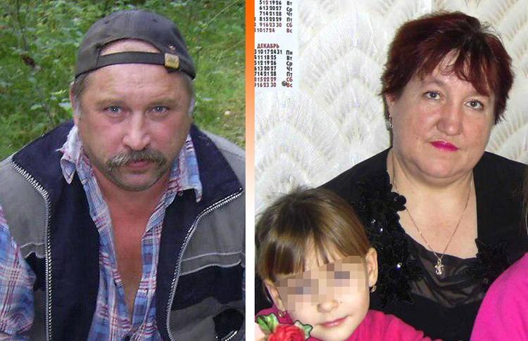 Родители Насти: отец Владимир и мать Татьяна.