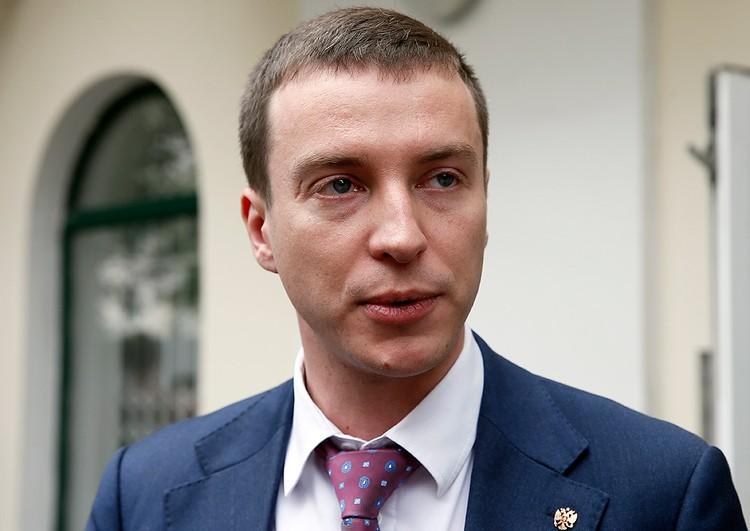 Ответственный секретарь Общественной наблюдательной комиссии Москвы Иван Мельников. Фото Александр Щербак / ТАСС