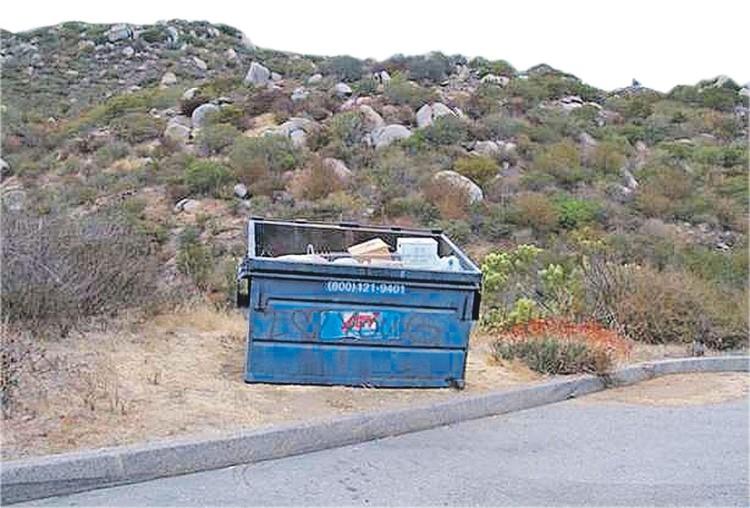 В этом контейнере было найдено тело Кви Чу Лим. Фото: Newport Beach Police Department
