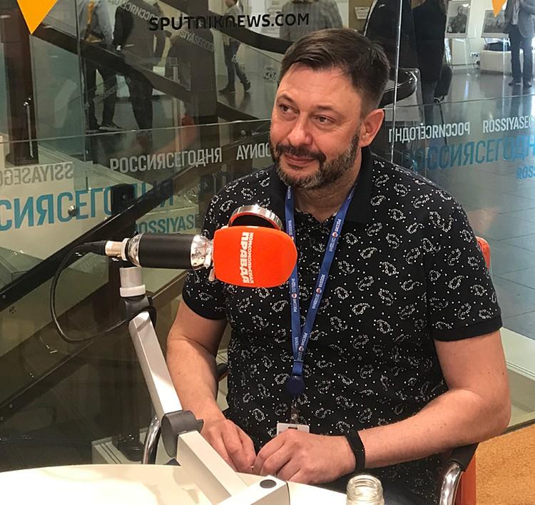 Кирилл Вышинский пообщался с нашими корреспондентами