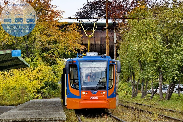 Оранжевый трамвай челябинцы прозвали «Рыжик». Фото: Челябинский транспорт/vk.com