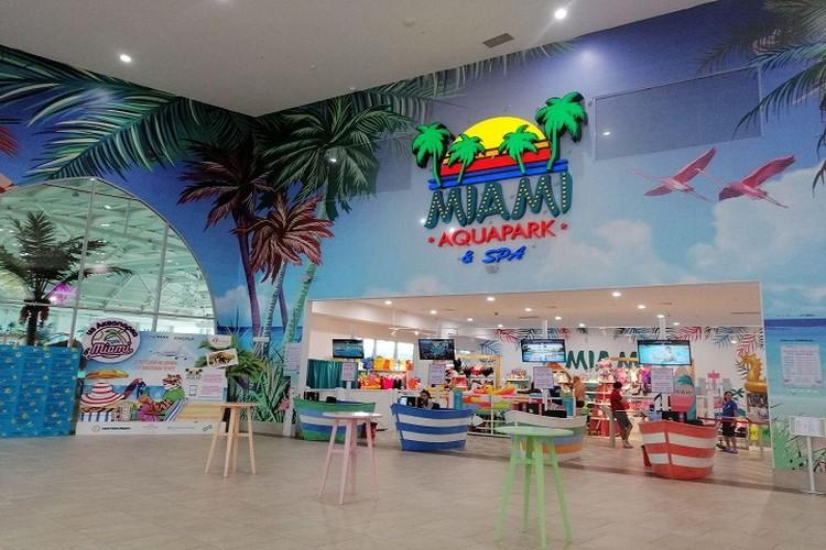 В проект входят развлекательная зона в аквапарке, более взрослая зона аквапарк Miami и СПА центр.