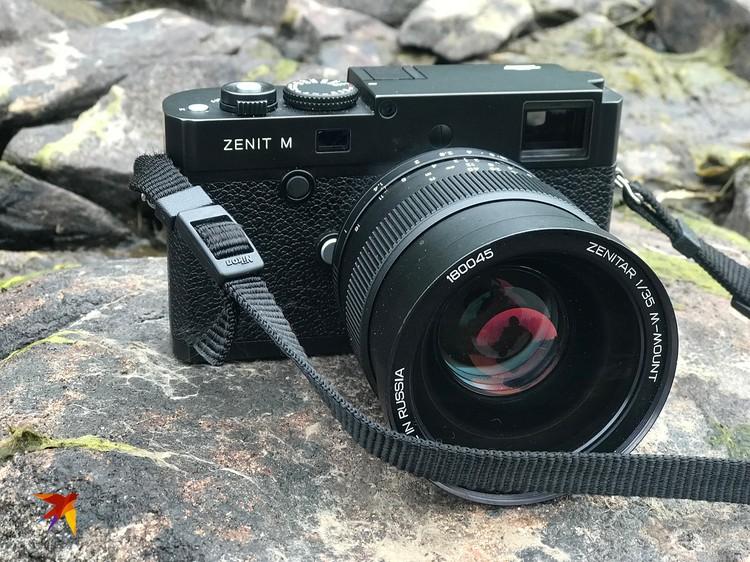 Внутренности «Зенита» - это настоящая немецкая, качественная и жутко дорогая «Leica m240» без всякого там автофокуса