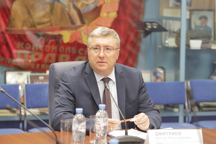 Виктор Дмитриев, Генеральный директор Ассоциации Российских фармацевтических производителей (АРФП)