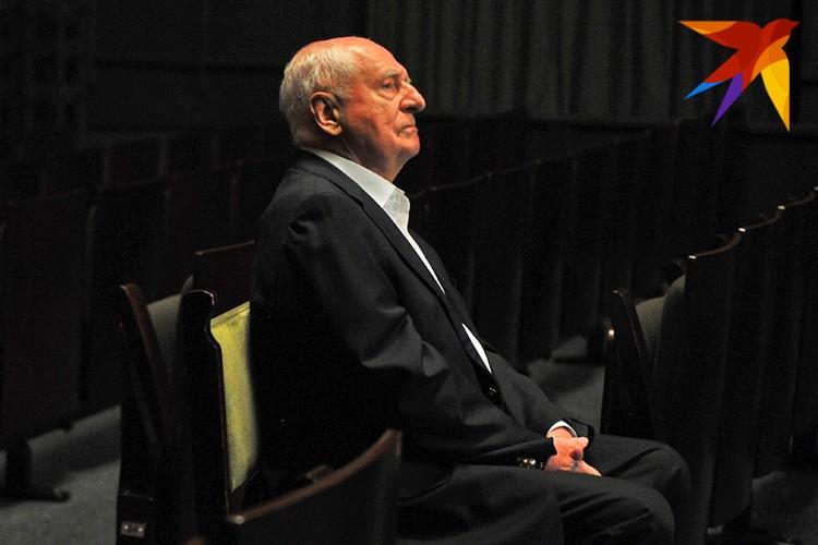"Марк Захаров бессменный худрук театра ""Ленком"" с 1973 года."