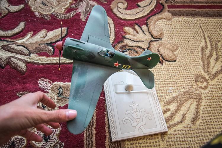 Самолеты и небо - это важная часть жизни ветерана.