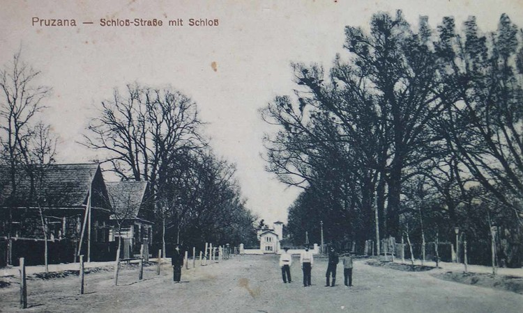 Сегодня застройка Дворной-Замковой-Пацевича-Советской только на отдельных участках напоминает старые Пружаны. Фото: Wikipedia.org