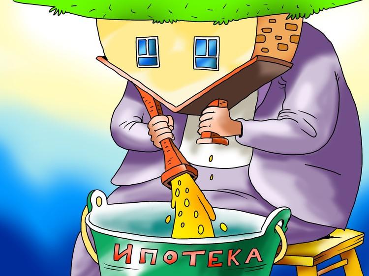 Доля семей в России, которые могут позволить ипотеку, составляет всего 26,9%.