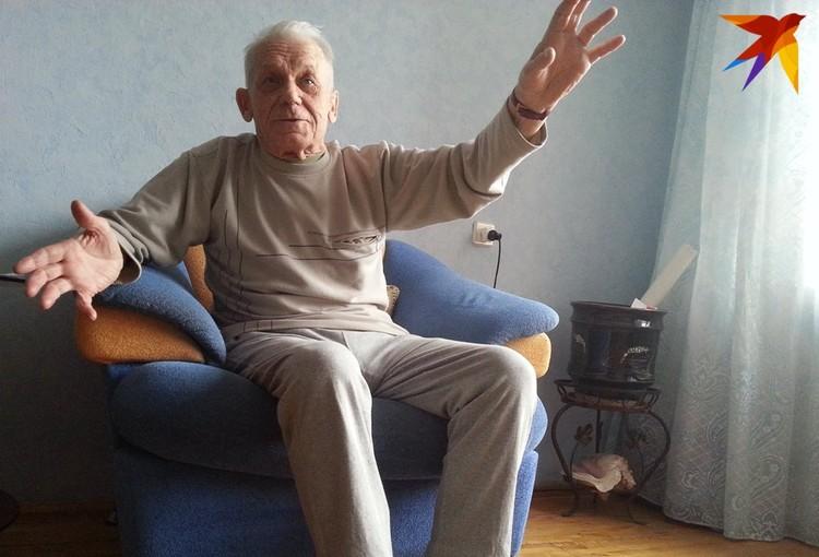 Павел Васильевич в год 70-летия Великой Победы. Фото: Александр ЕФАНОВ.