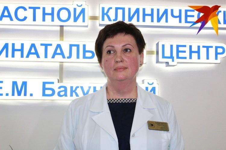 Главный врач перинатального центра Людмила Гребенщикова