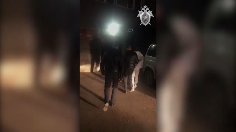Двух подозреваемых задержали минувшей ночью. Стоп-кадр видео