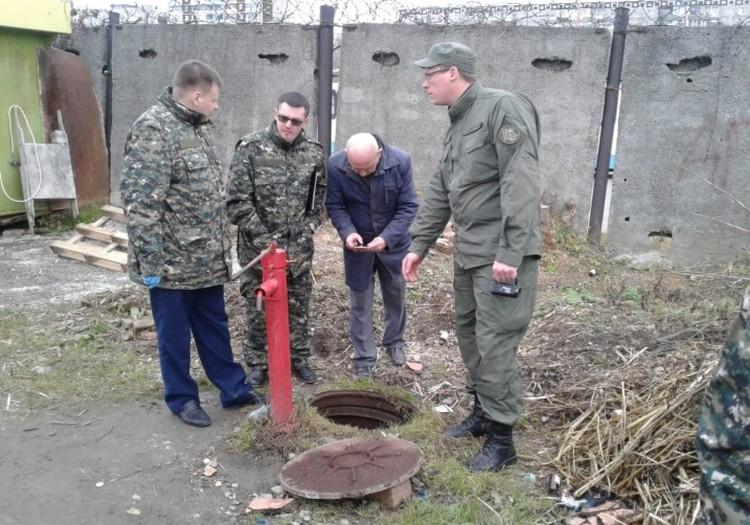 Коллектор, куда бросили тело Ксении Каторгиной. Фото : СУ СКР по Свердловской области