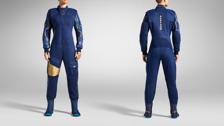 Женский костюм для Virgin Galactic